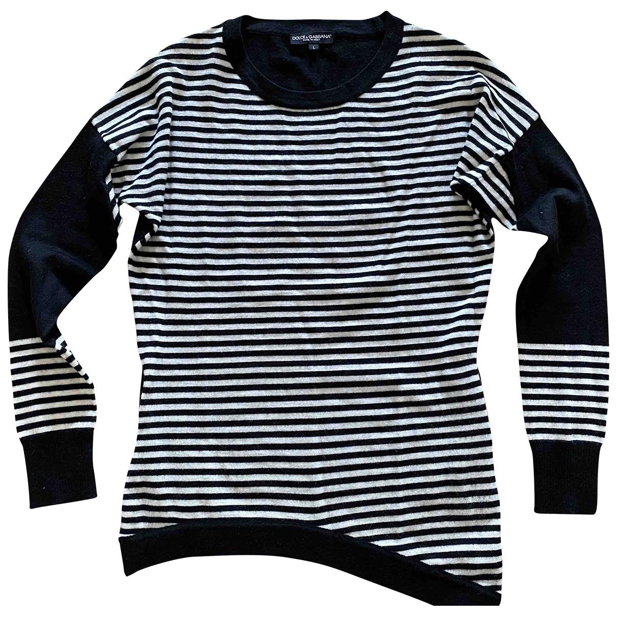 Dolce & Gabbana \N Pullover in  Schwarz Wolle
