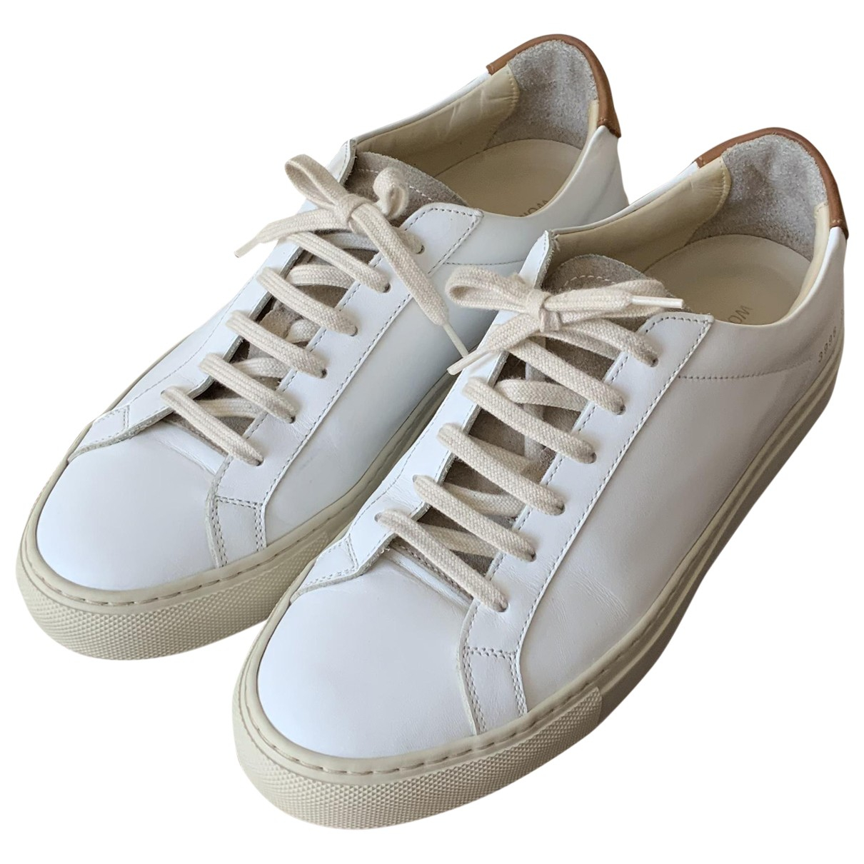 Common Projects \N White Leather Trainers for Women 39 EU
