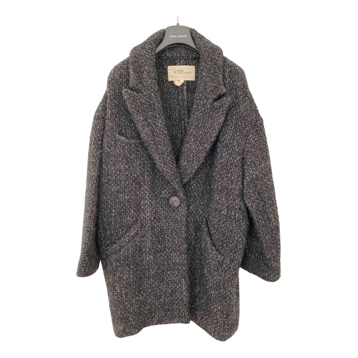 Isabel Marant Etoile - Manteau   pour femme en laine - anthracite