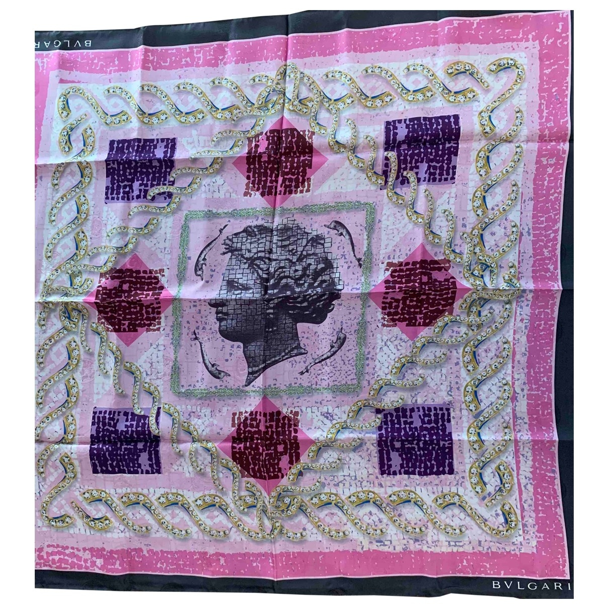 Bvlgari \N Silk scarf for Women \N