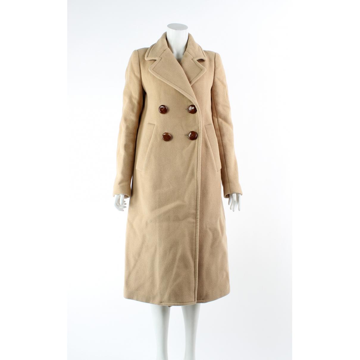 See By Chloé \N Camel Wool coat for Women 38 FR
