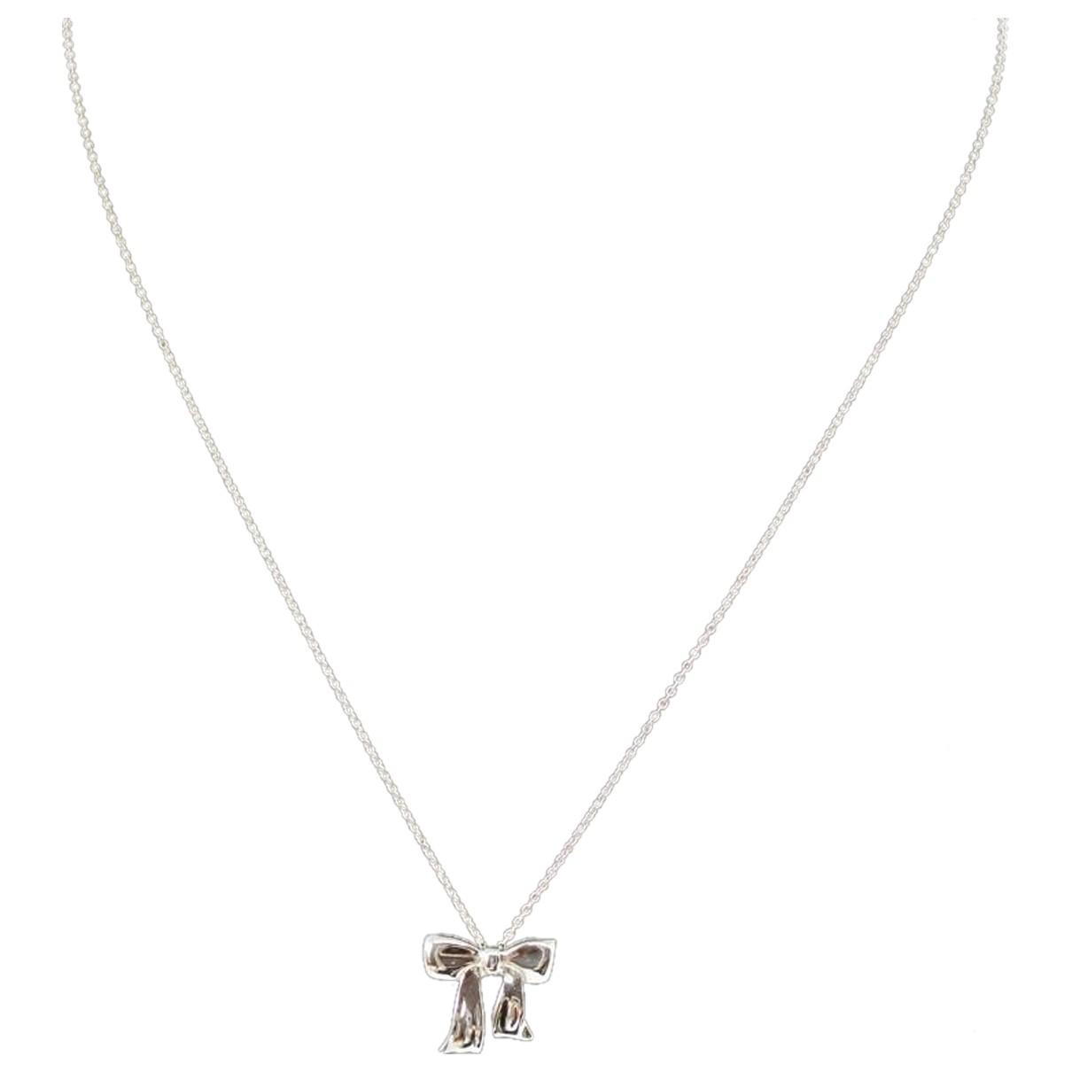 Tiffany & Co - Collier   pour femme en argent - argente