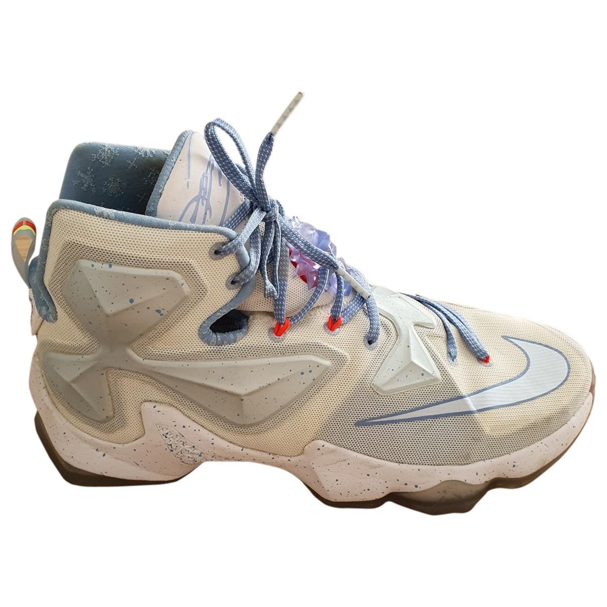 Nike \N White Cloth Trainers for Men 44.5 EU