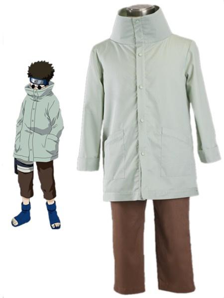 Milanoo Naruto Yunyo Shino 1th 65% Cotton 35% Polyester Cosplay Costume Halloween