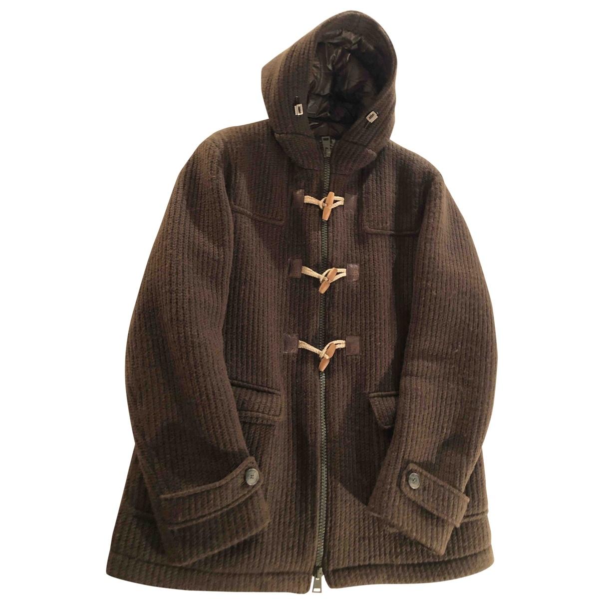 Herno \N Maentel in  Gruen Wolle