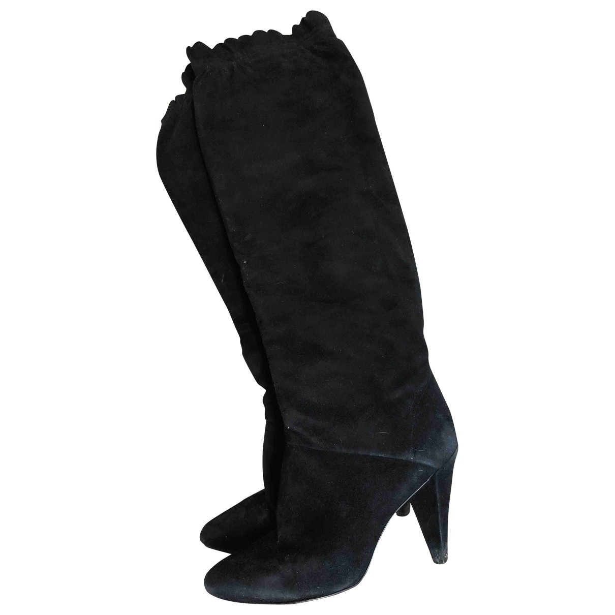 Marc Jacobs \N Black Suede Boots for Women 36 EU
