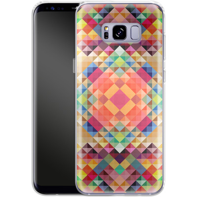 Samsung Galaxy S8 Plus Silikon Handyhuelle - We Color von Danny Ivan