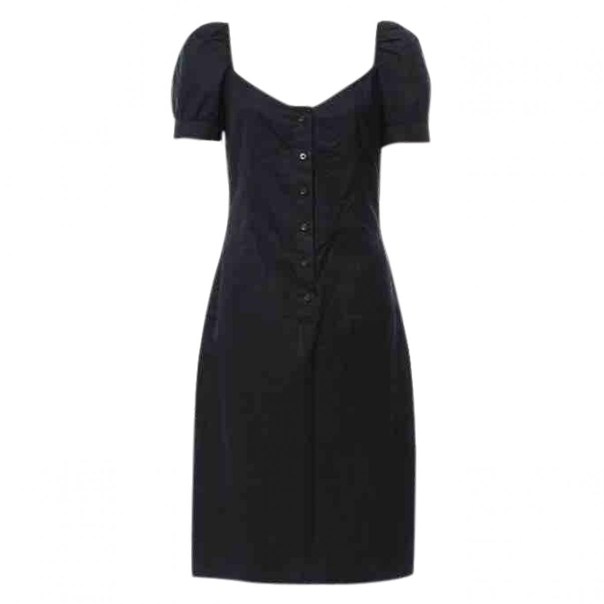 Miu Miu - Robe   pour femme en coton - noir