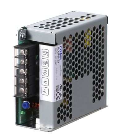 Cosel , 100.5W Embedded Switch Mode Power Supply (SMPS), 15V dc, Enclosed