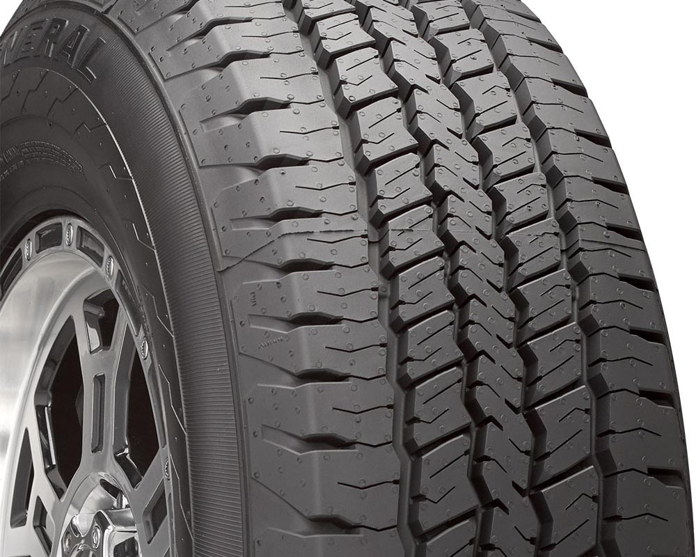General Tires 04509200000 Grabber HD Tire LT235/80 R17 120R E1 BSW