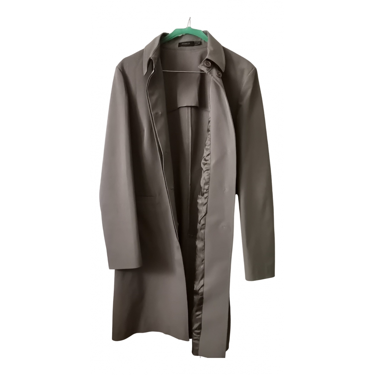 Pinko N Green Trench coat for Women 44 IT