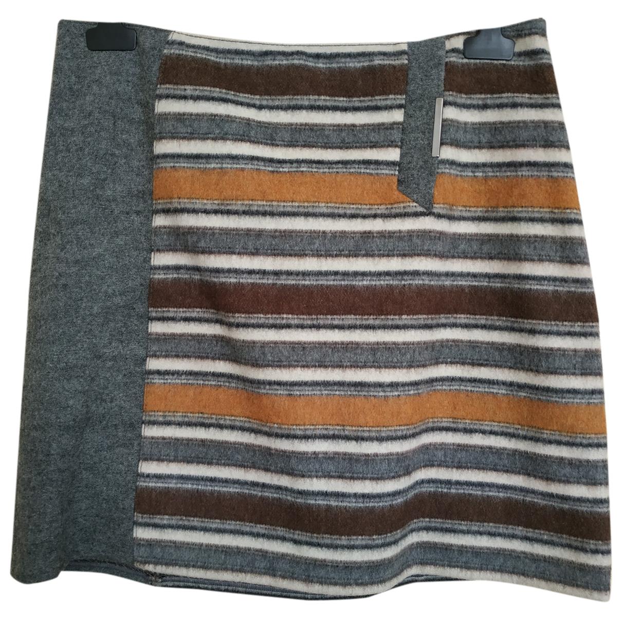 Marella N Multicolour Wool skirt for Women 46 IT