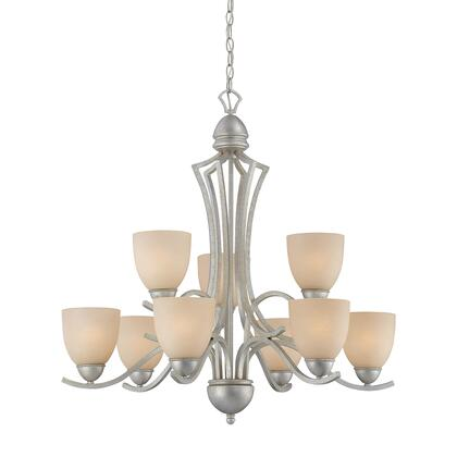 Sl808372 Triton Chandelier Moonlight Silver