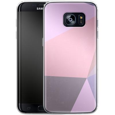 Samsung Galaxy S7 Edge Silikon Handyhuelle - Sweet Collage von Emanuela Carratoni