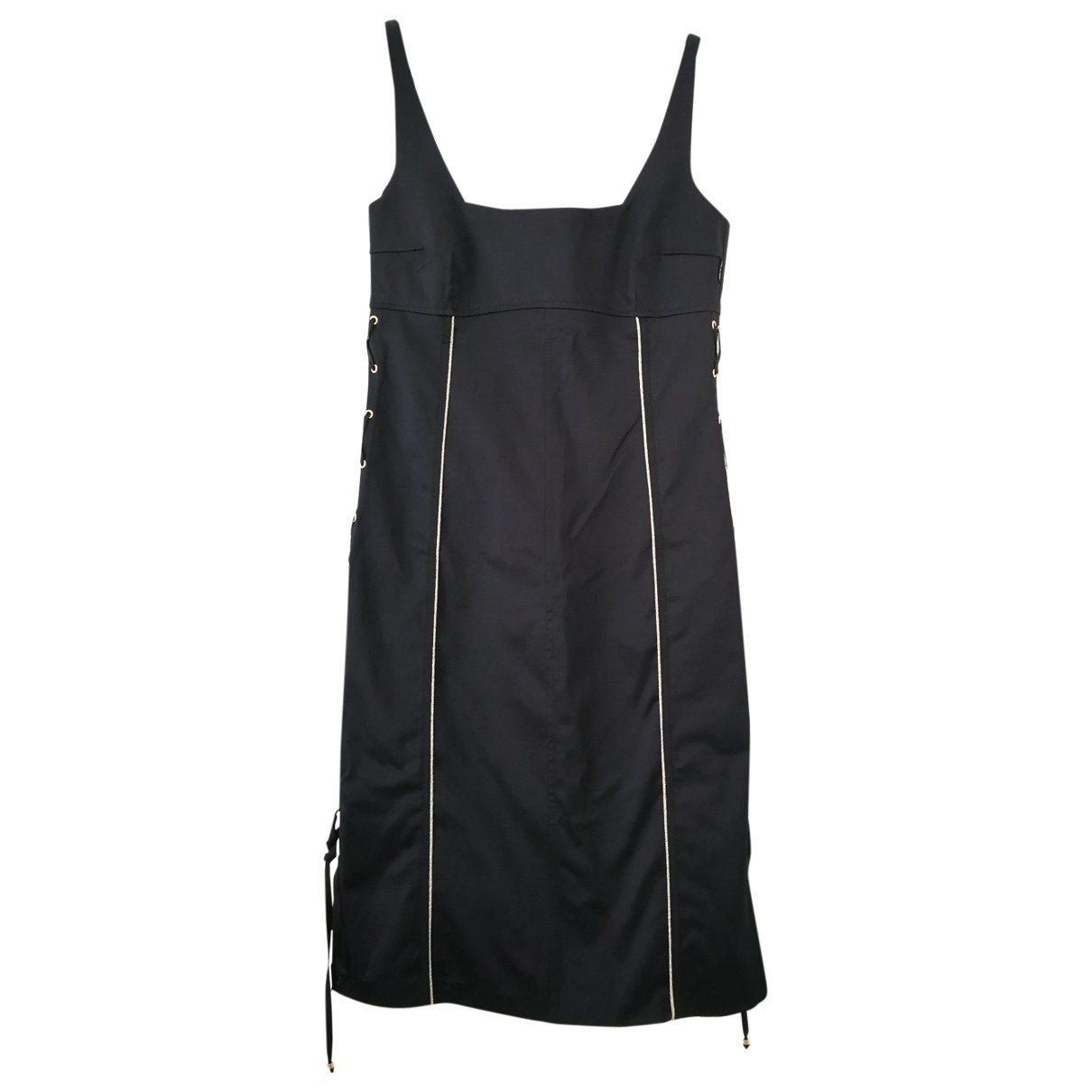 Non Signé / Unsigned \N Black dress for Women 46 IT
