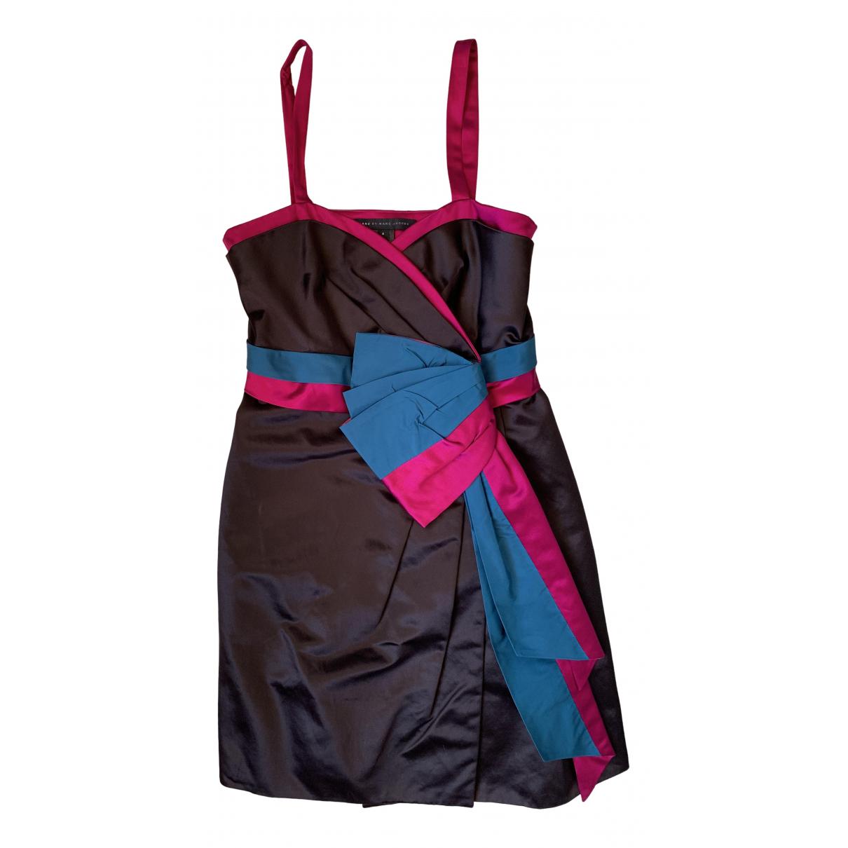 Marc By Marc Jacobs \N Kleid in  Bunt Seide