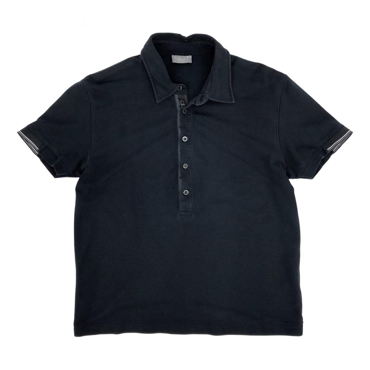 Dior \N Black Cotton Polo shirts for Men S International