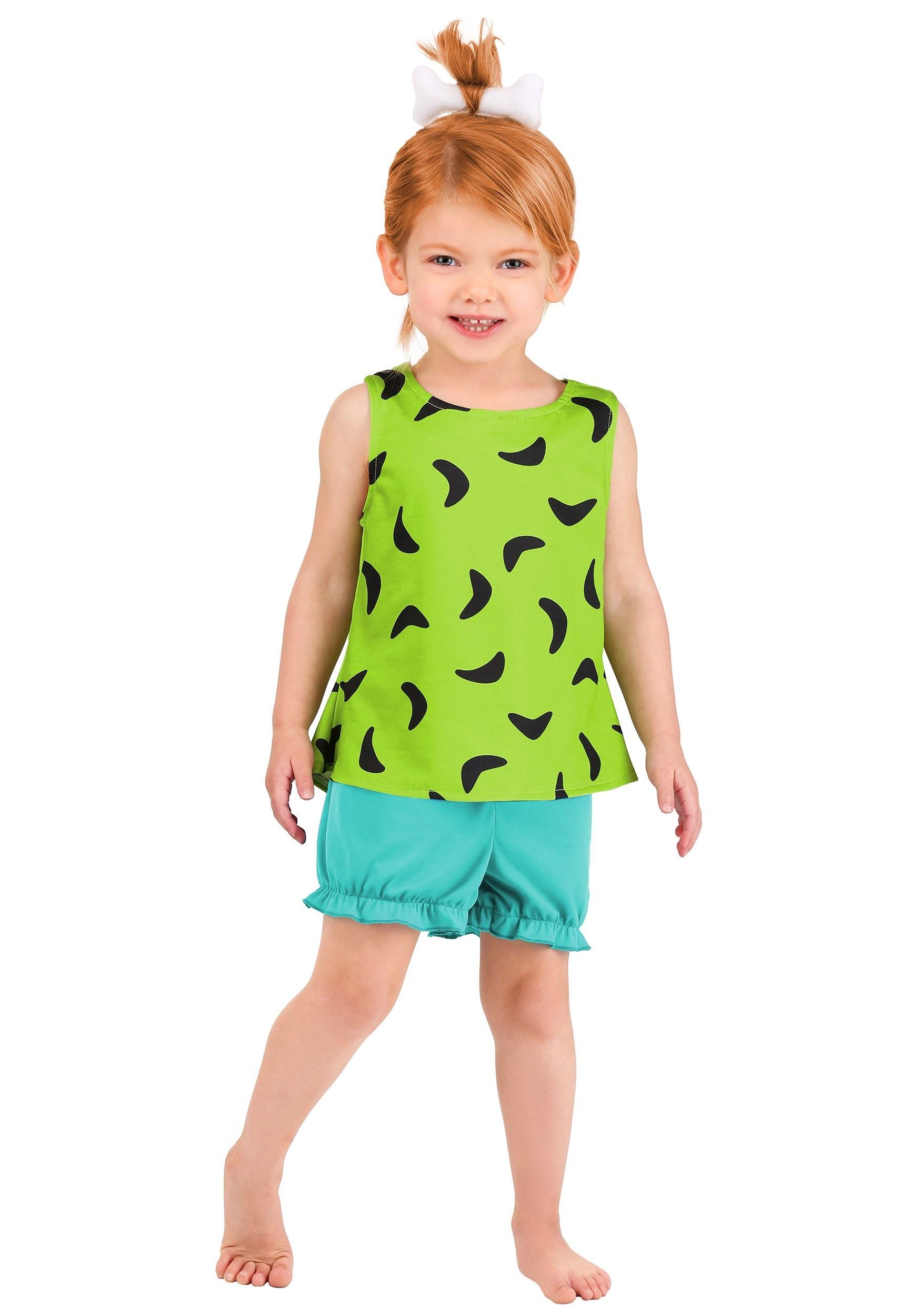 Classic Flintstones Toddler's Pebbles Costume