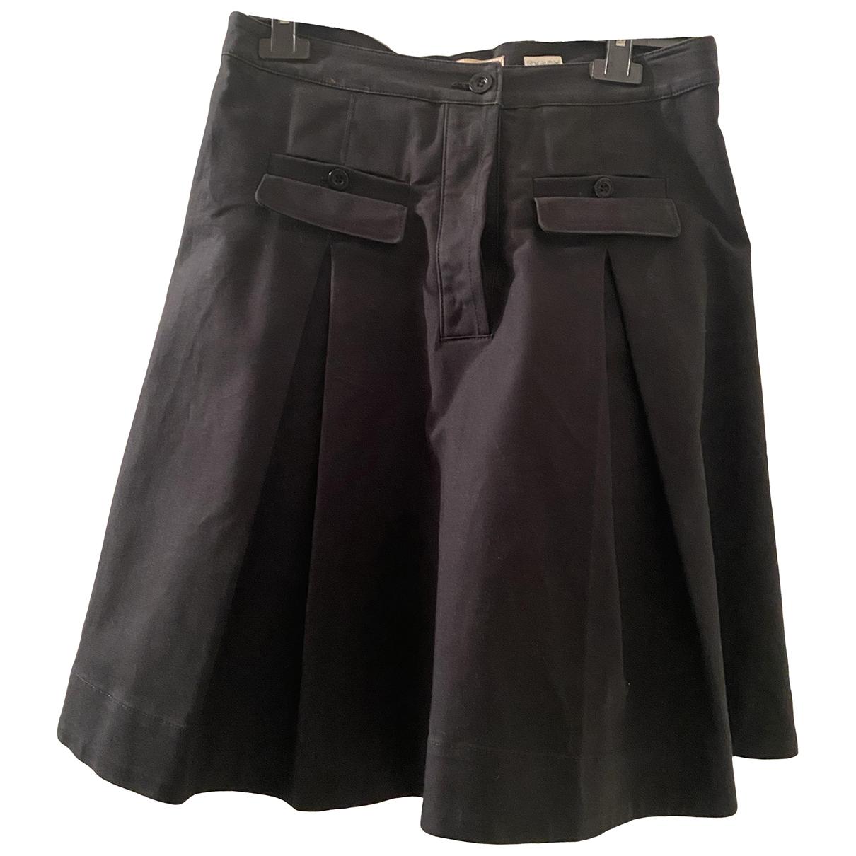 See By Chloe - Jupe   pour femme en coton - elasthane - noir