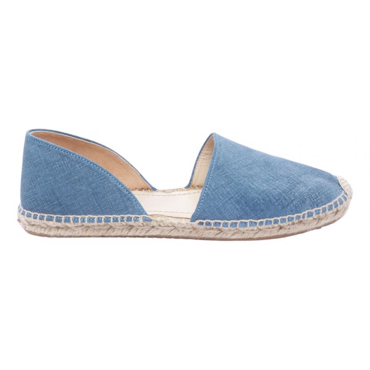 Jimmy Choo \N Sneakers in  Blau Leinen