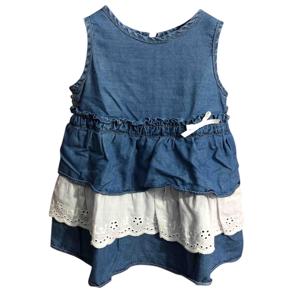 Liu.jo - Robe    pour enfant en coton - bleu