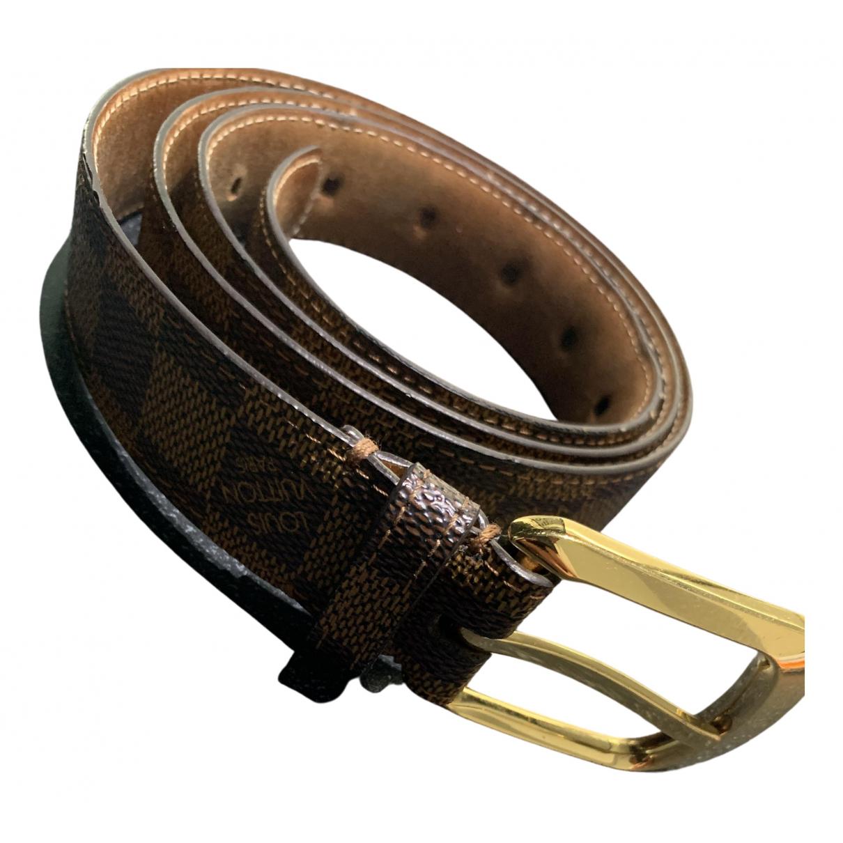Louis Vuitton \N Cloth belt for Men 100 cm