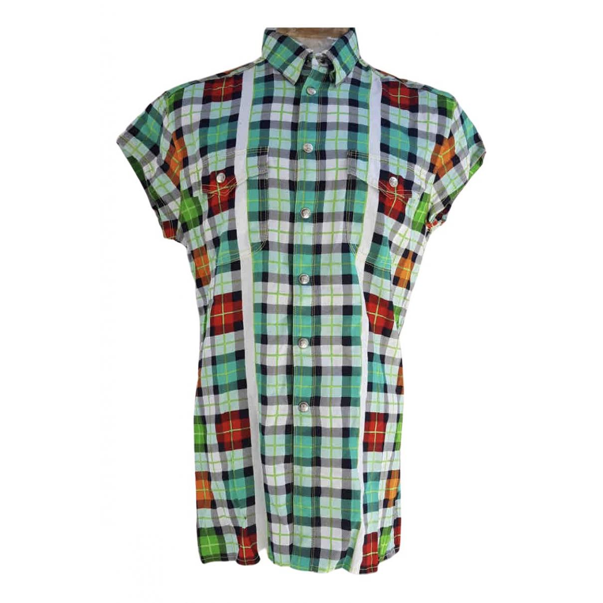 Gianni Versace \N Multicolour Cotton Shirts for Men L International
