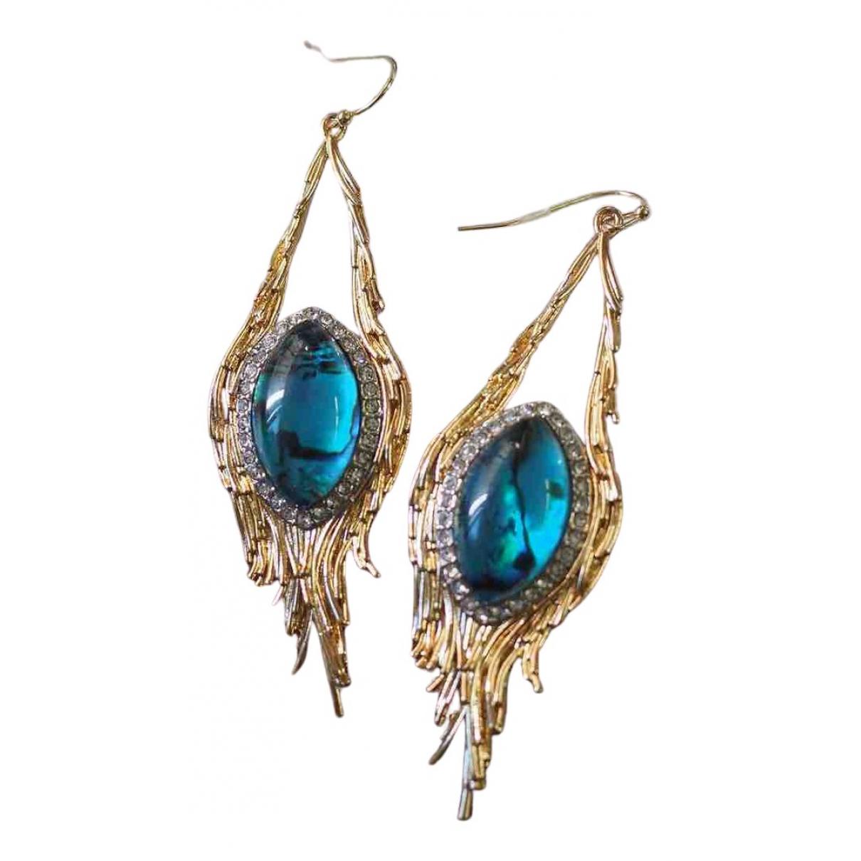 Alexis Bittar N Multicolour Metal Earrings for Women N