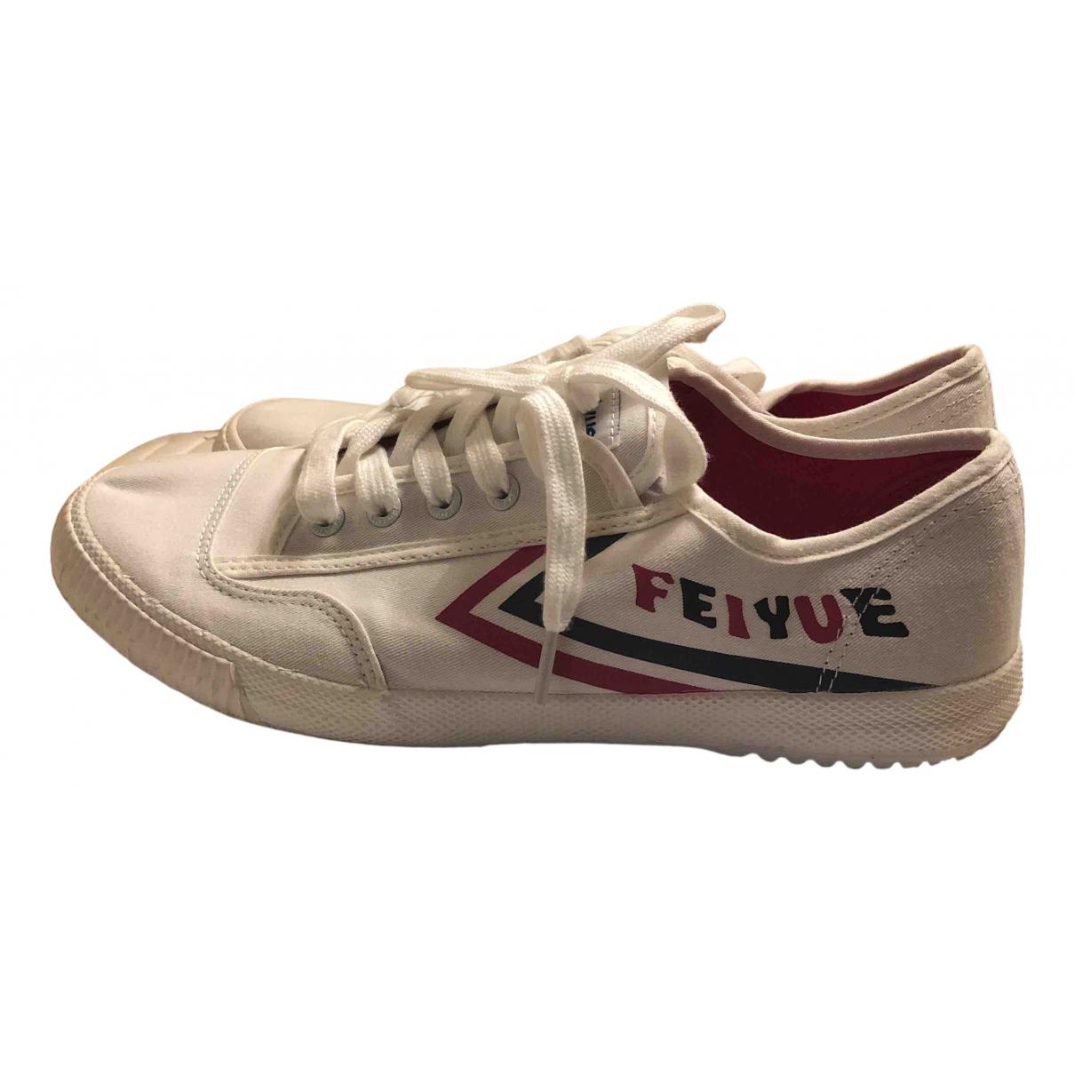 Feiyue \N Sneakers in  Weiss Kautschuk