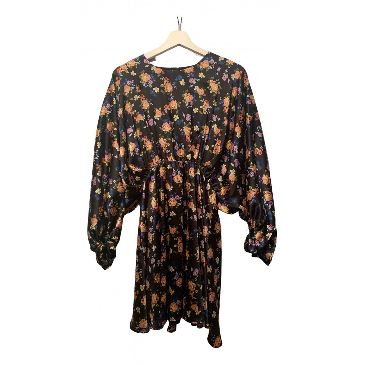 Zara \N Kleid in  Schwarz Kaschmir