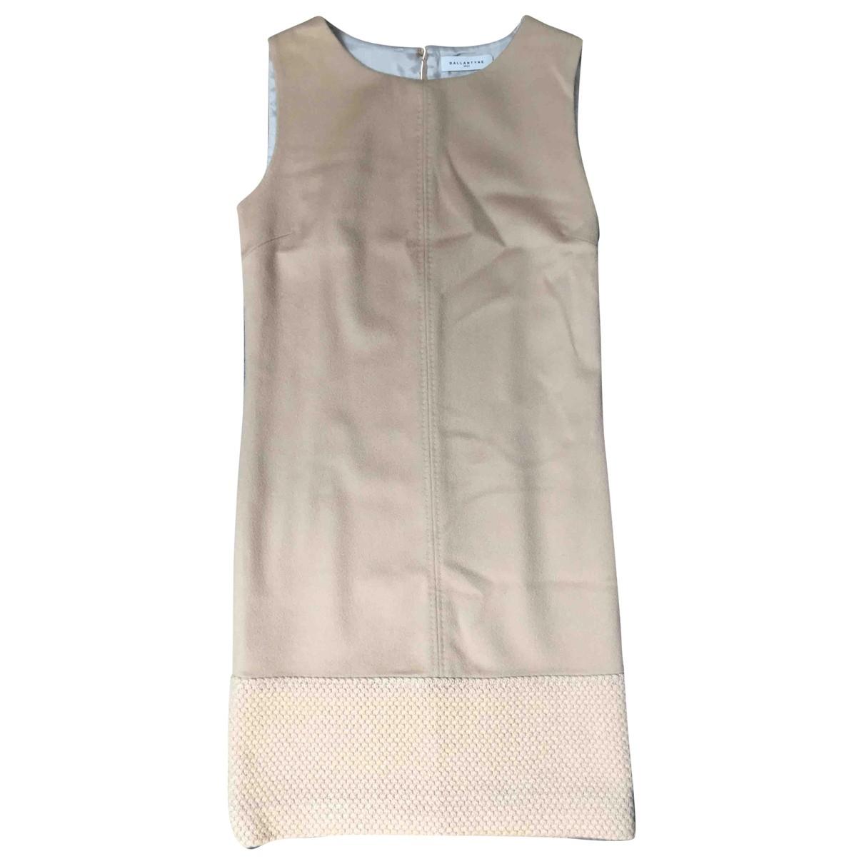 Ballantyne - Robe   pour femme en laine - camel