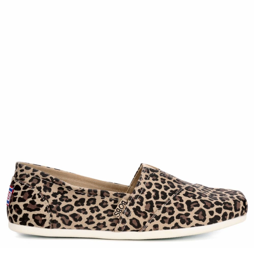 Skechers Bobs Womens Plush Hot Spotted