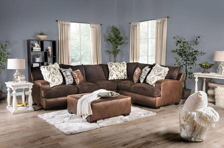 Gellhorn Collection SM5202BRSECTSET 2 PC Living Room Set with 128