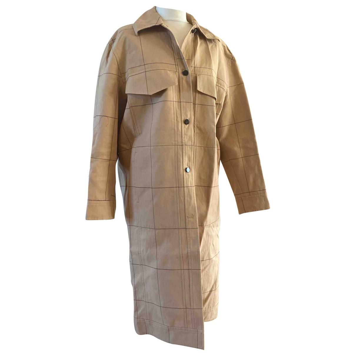 By Malene Birger \N Beige Cotton coat for Women 12 UK
