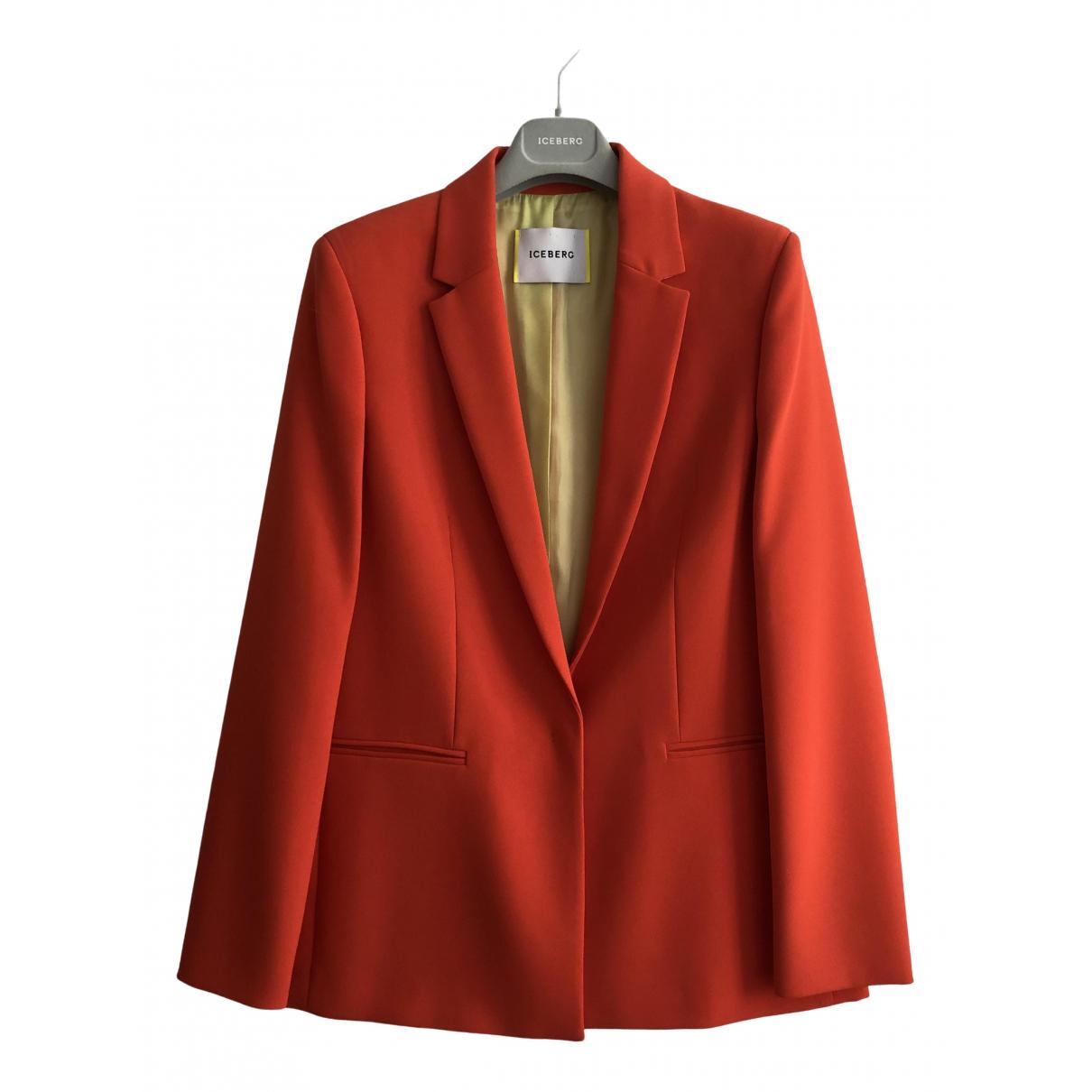 Iceberg \N Orange jacket for Women 42 IT