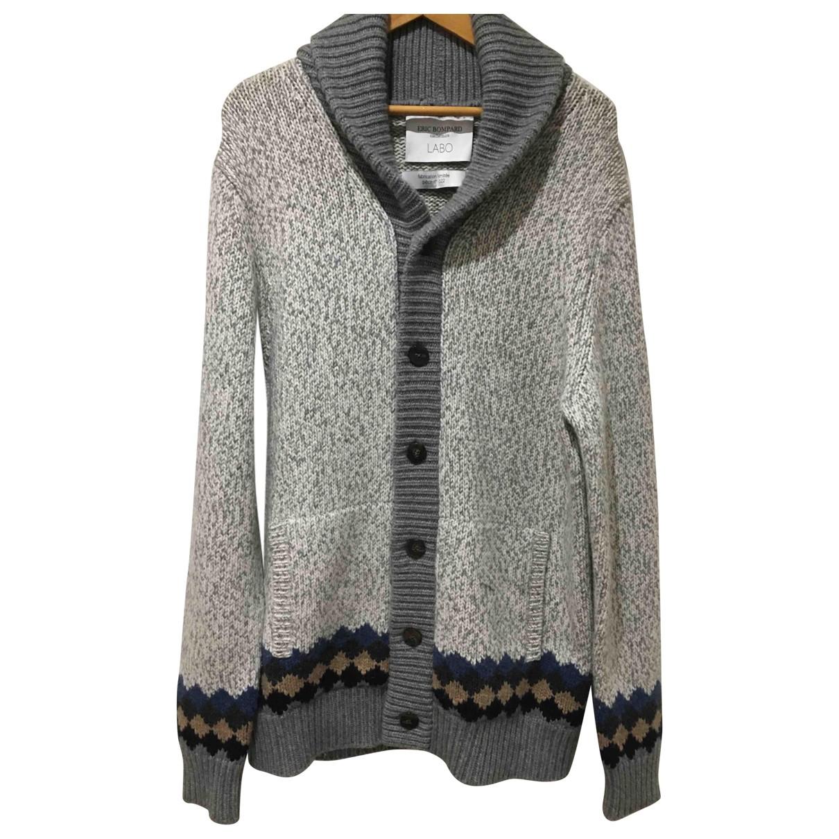 Eric Bompard \N Pullover.Westen.Sweatshirts  in  Grau Kaschmir