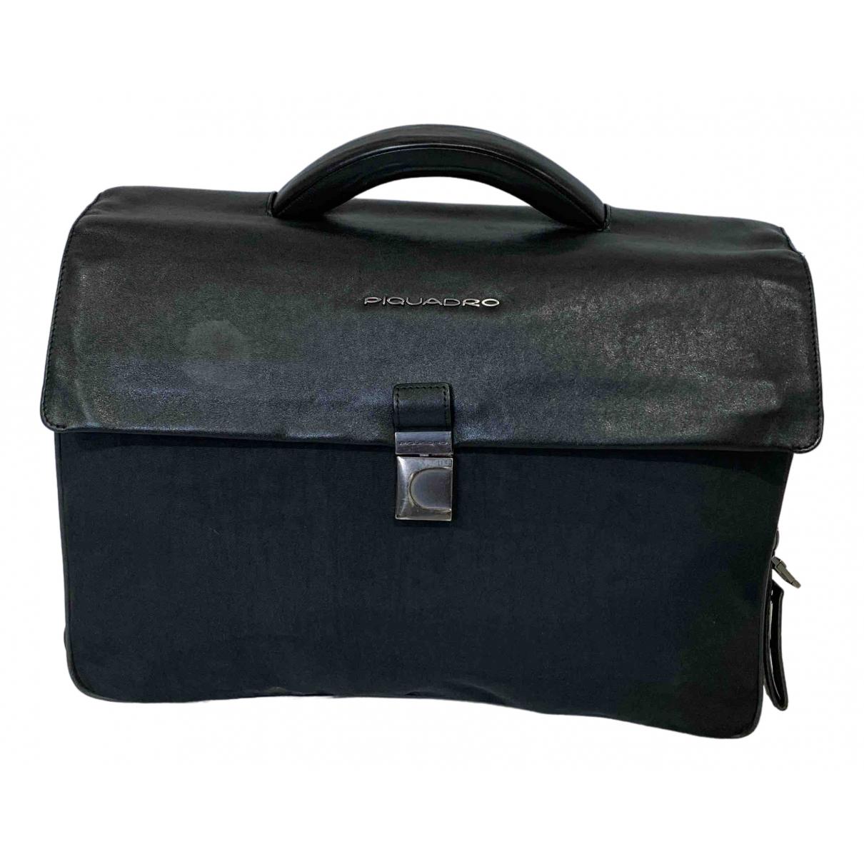 Piquadro \N Black Cloth bag for Men \N