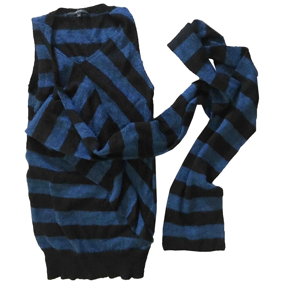 Gucci \N Blue Wool Knitwear for Women 40 IT