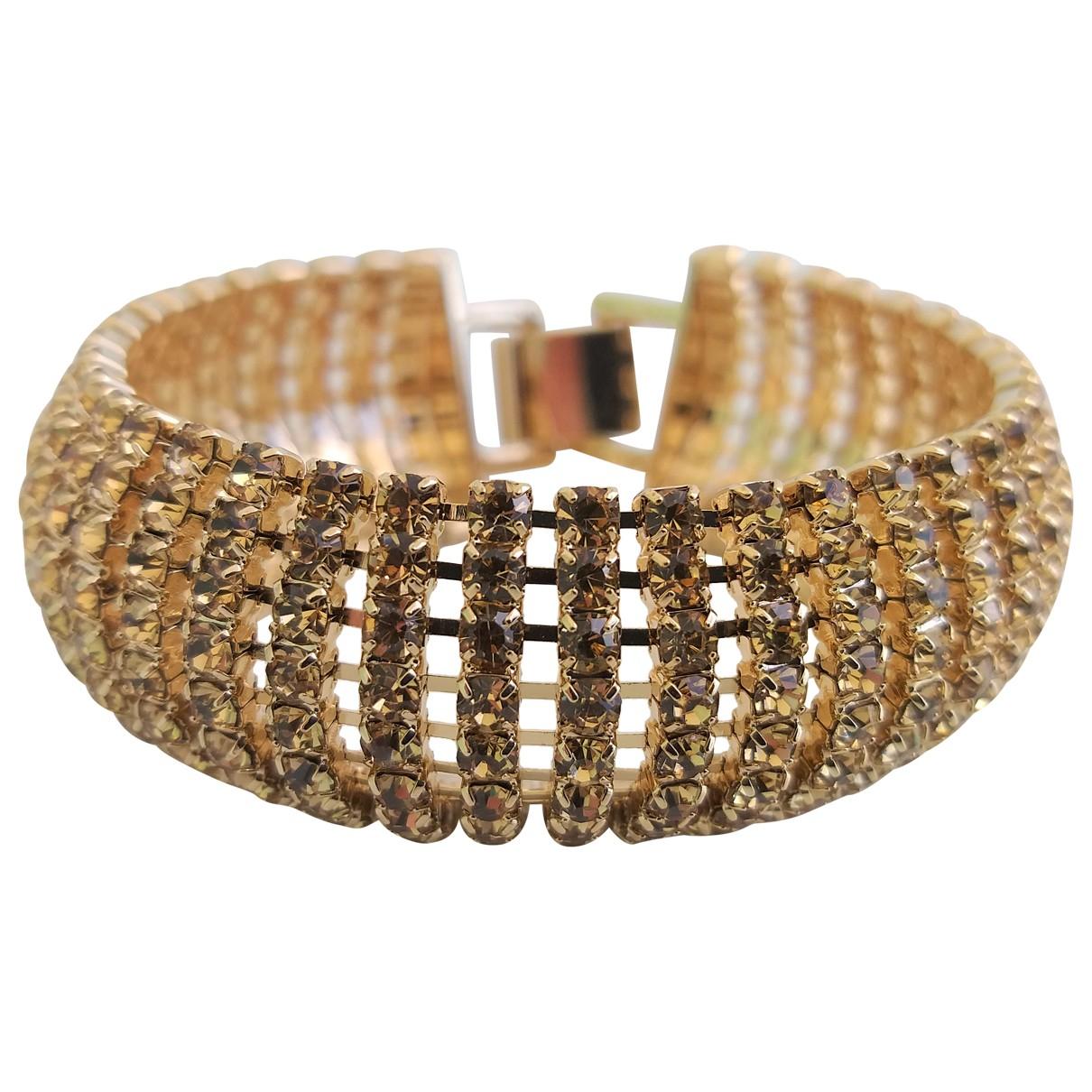 Carolina Herrera - Bracelet   pour femme en metal - dore