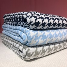 1pc Houndstooth Blanket