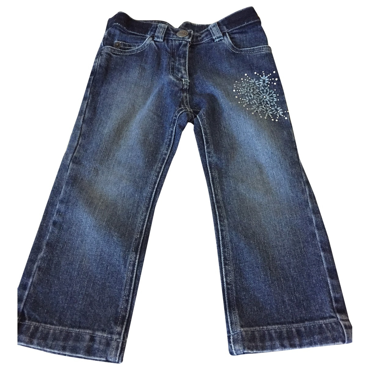 Dior \N Blue Denim - Jeans Trousers for Kids 2 years - until 34 inches UK