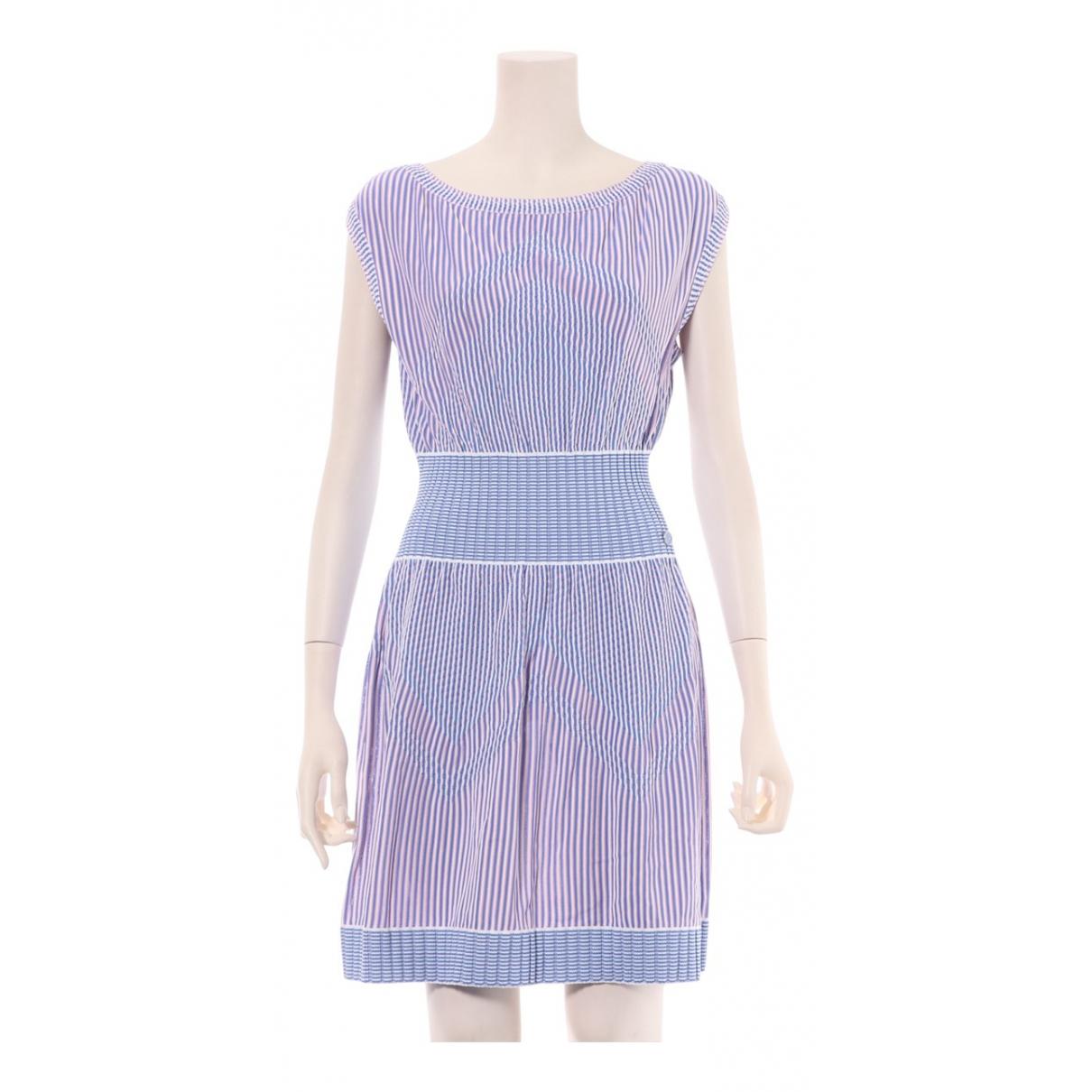 Chanel \N Kleid in  Blau Synthetik
