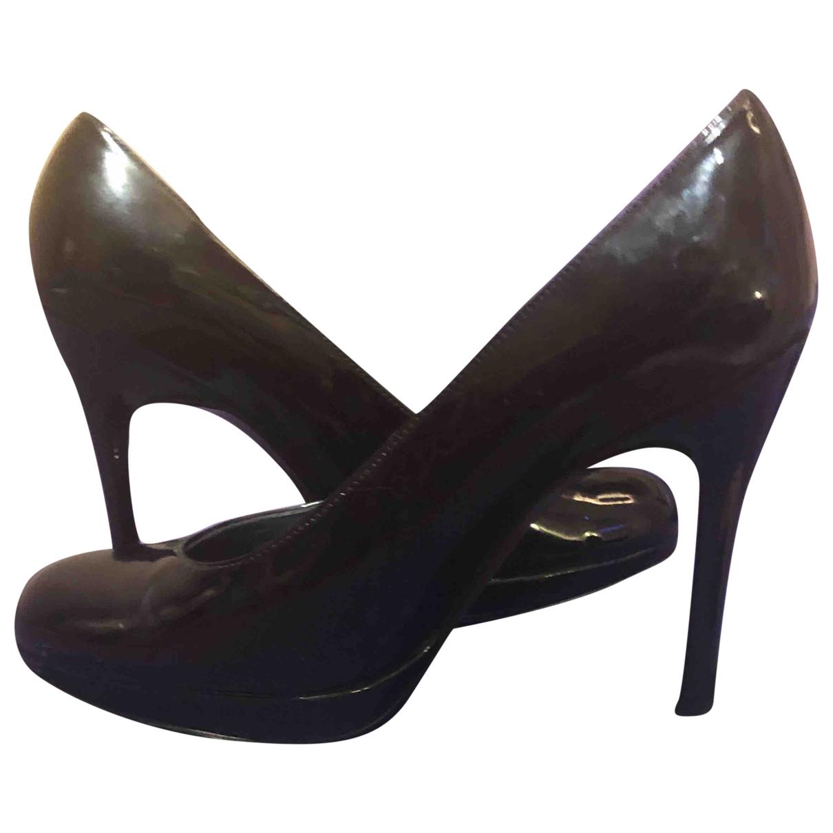 Stuart Weitzman \N Black Patent leather Heels for Women 36 EU