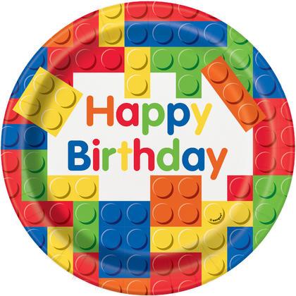 Building Blocks Birthday Round 9