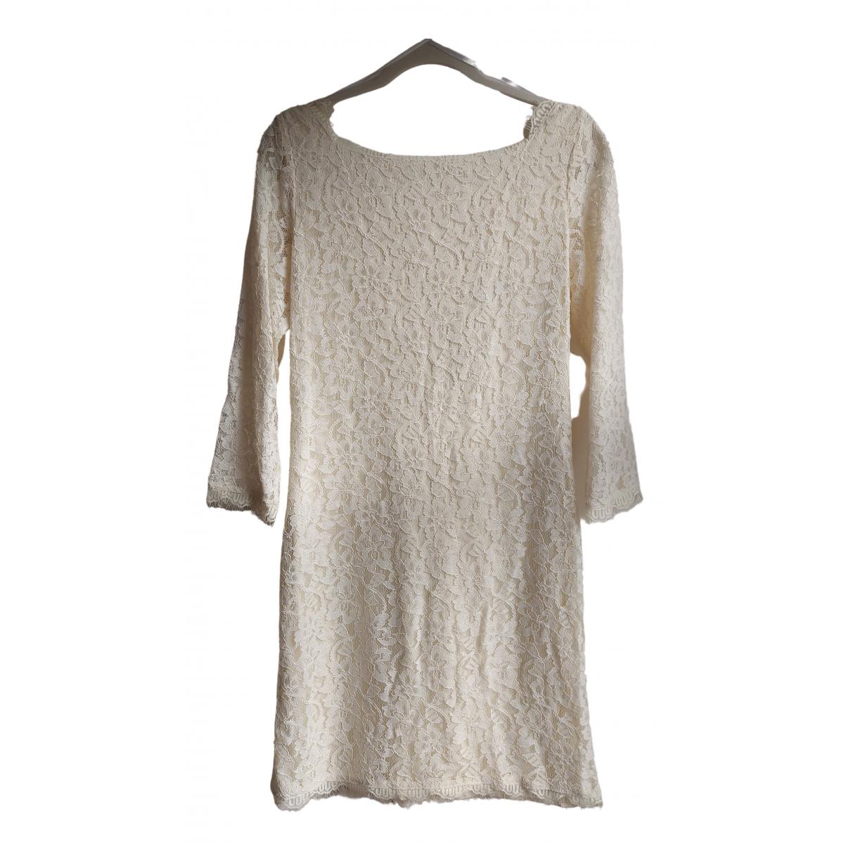 Diane Von Furstenberg N Ecru dress for Women 12 US
