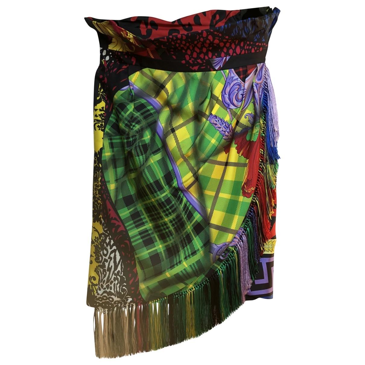 Versace - Jupe   pour femme en soie