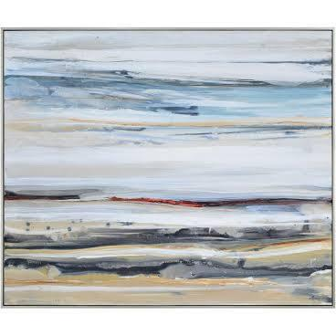 Desert Road Collection OL1340 Canvas by Dominic Lecavalier with Rectangle Shape and Horizontal Hanging
