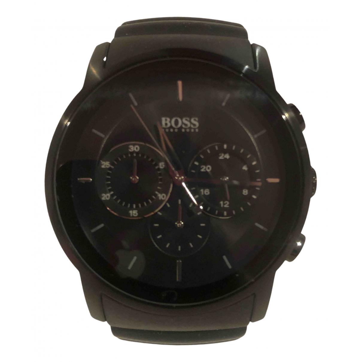 Boss \N Uhr in  Schwarz Stahl