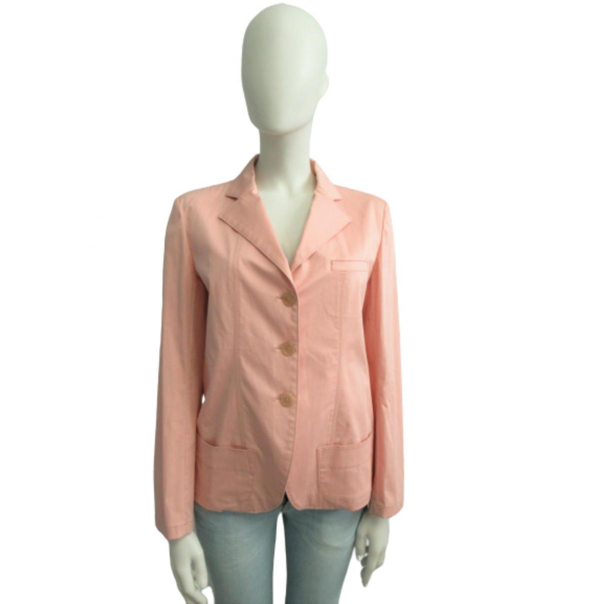 Jil Sander - Veste   pour femme en coton - rose