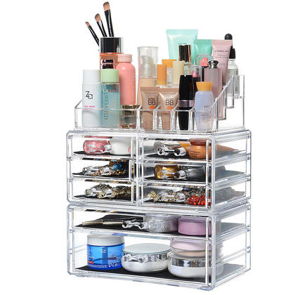 Detachable 8 Drawers Cosmetic Makeup Cosmetics Organizer SortWise™